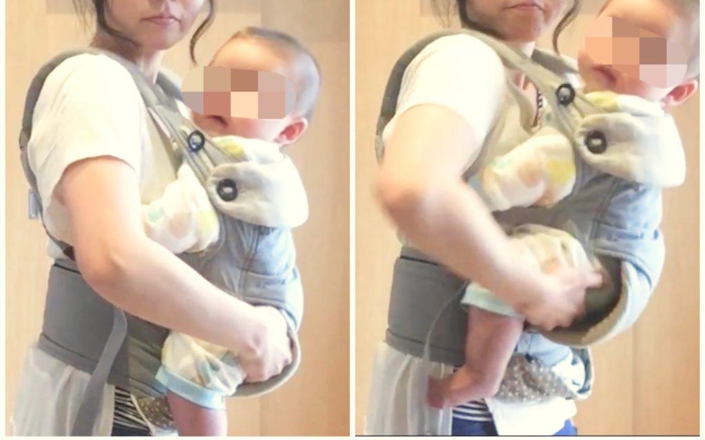 赤ちゃんの姿勢を直す