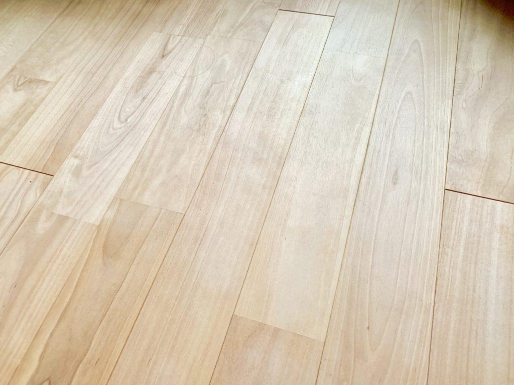 キレイになった床