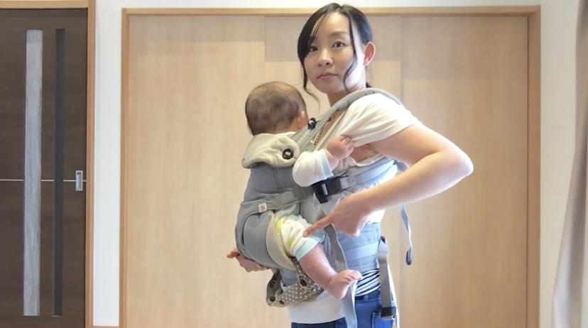 赤ちゃんの姿勢を確認